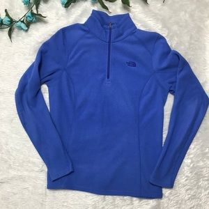 The North Face Blue Long Sleeve Pullover Sweater